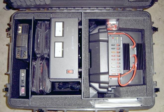 Mobile Radio Equipment Case